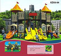 Уличный комплекс для детской игровой площадки