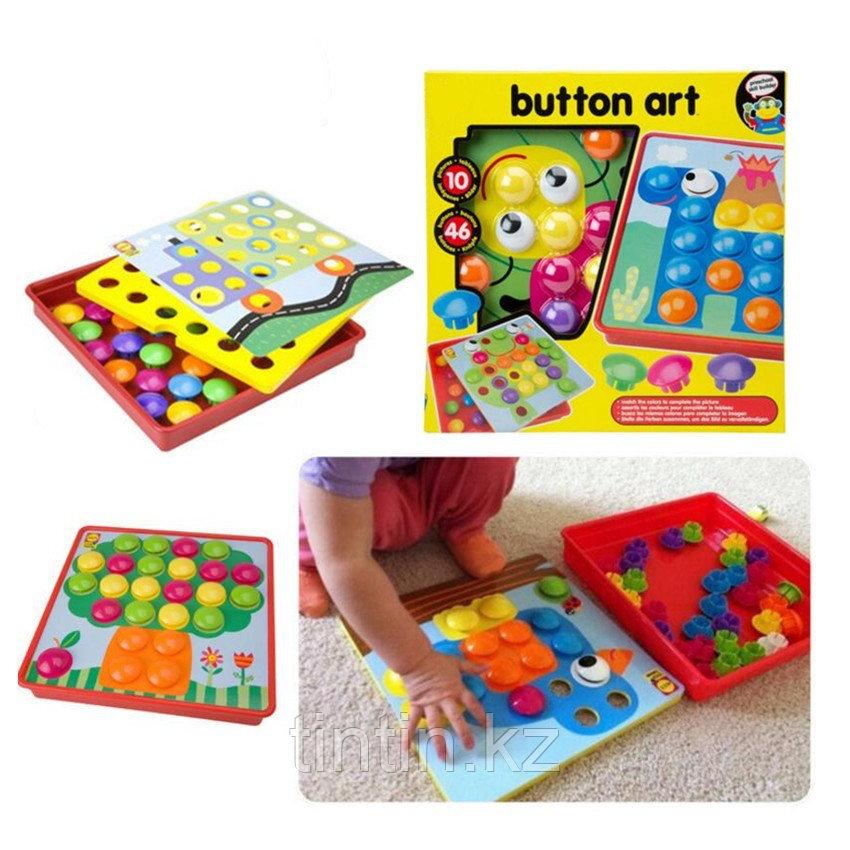 """Мозаика """"Кнопки"""" Button Nail"""