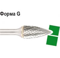 Борфреза  форма G заостренной головкой, диаметр головки 12мм