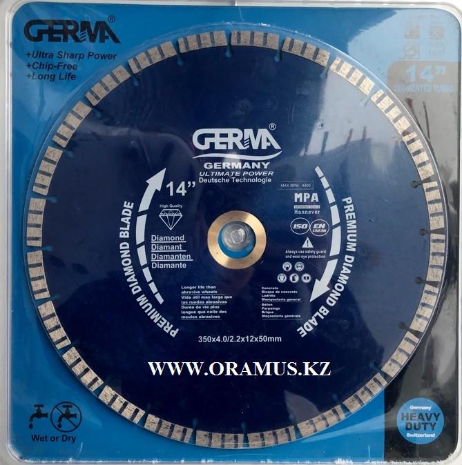 Алмазный диск по бетону 300мм высотка сегмента 1,2мм Германия