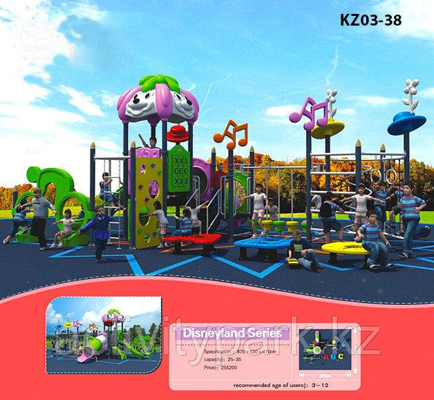 Оборудование для детской игровой площадке