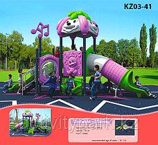 Уличное оборудование детского комплекса