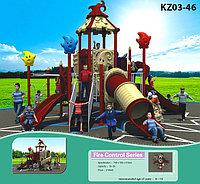 Детские уличные игровые комплексы для бизнеса