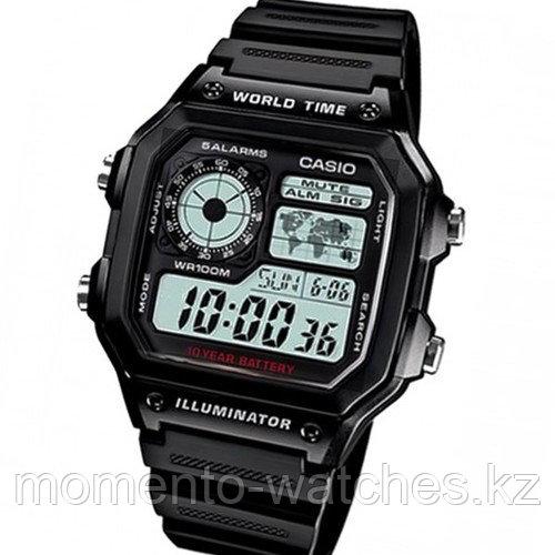 Мужские часы Casio AE-1200WH-1AVDF