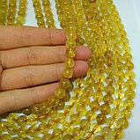 Кварц рутиловый — Волосы Венеры, золотой, 8мм, фото 2