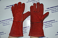 Перчатки сварщика спилковый