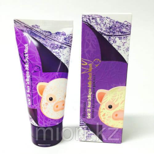 Маска-пленка с экстрактом ласточкиного гнезда и коллагеном Elizavecca Gold GF-Nest Collagen Jella Pack Mask 80