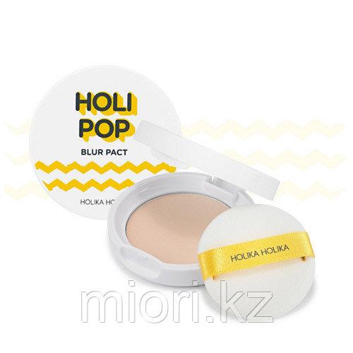 Пудра для лица Holi Pop Blur Pact SPF30 PA+++ [Holika Holika]