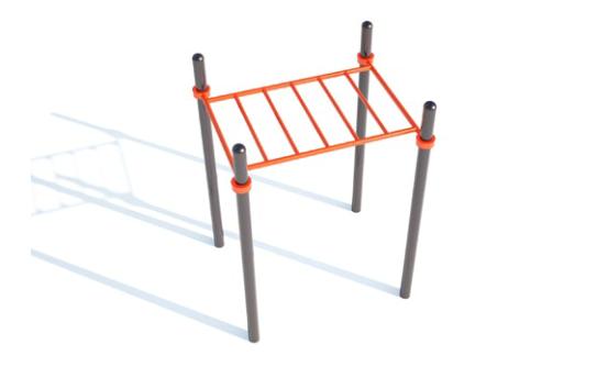 Рукоход горизонтальная лестница Aw-019