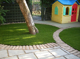 Искусственная трава,ландшафтная трава (газон)