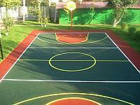 Бесшовное покрытие для детских и спортивных площадок