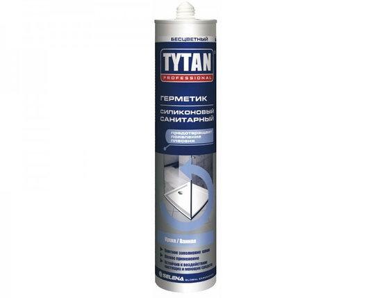 TYTAN Герметик Силиконовый Санитарный бесцв. 12 шт в коробке, фото 2