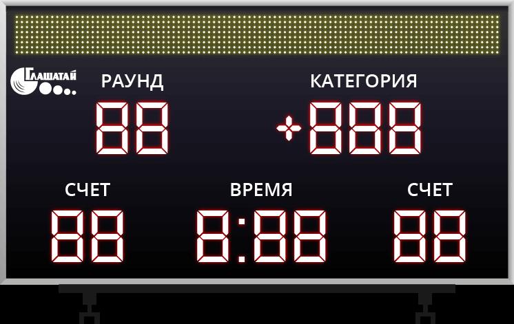Спортивные табло, табло для АЗС, бегущие строки и LED экраны