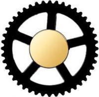Заглушка для часового механизма (вместо секундной стрелки)