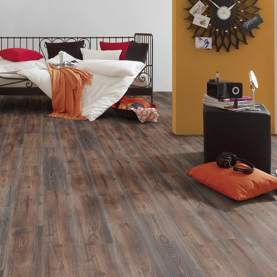 Ламинат Kronospan Коллекция Castello Oak Сanyon black