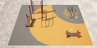 Площадка для тренировки воркаута и подготовки сдачи норм ВФСК AWp-4