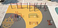 Площадка для тренировки воркаута и подготовки сдачи норм ВФСК AWp-11