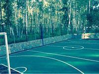 Укладка, монтаж резинового покрытия для спортивных и детских площадок