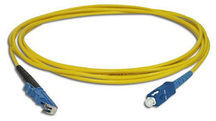 Оптический патчкорд e2000/UPC-SC/UPC Simplex SM