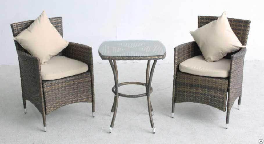Мебель для террас беседок из ротанга
