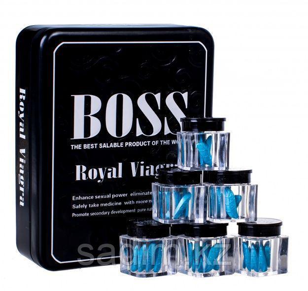 Boss Royal  Виагра королевская (баночка 3 таблетки )