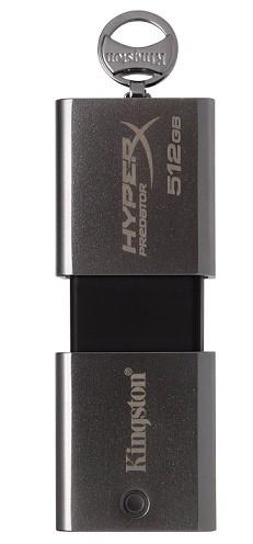 USB Флеш 512GB 3.0 Kingston DTHXP30/512GB металл