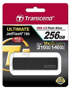 USB Флеш 256GB 3.0 Transcend TS256GJF780 черный