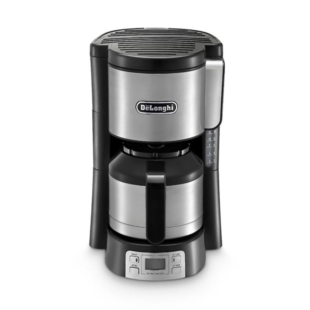 Кофеварка капельная DeLonghi ICM15750 металл