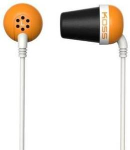 Наушники-вкладыши Koss The Plug оранжевый