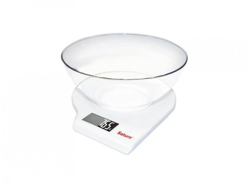 Весы кухонные Saturn ST-KS7803 белый