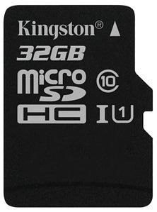 Карта памяти MicroSD 32GB Class 10 U1 Kingston SDC10G2/32GBSP