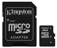 Карта памяти MicroSD 8GB Class 4 Kingston SDC4/8GB