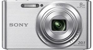 Фотоаппарат компактный Sony DSC-W830 серебро/черный