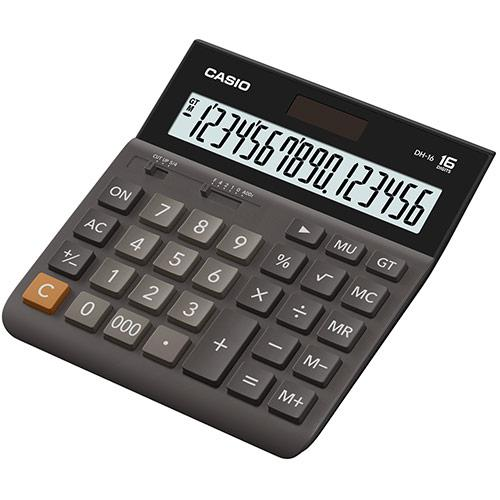 Калькулятор настольный CASIO DH-16-BK-S-EH