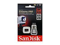 Карта памяти MicroSD 128GB Class 10 U3 SanDisk SDSQXPJ-128G-GN6M3