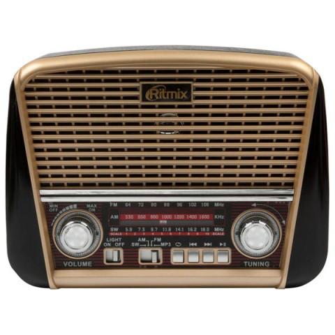 Радиоприемник портативный Ritmix RPR-050 gold