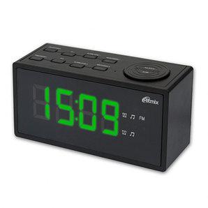 Радиочасы Ritmix RRC-1212 black