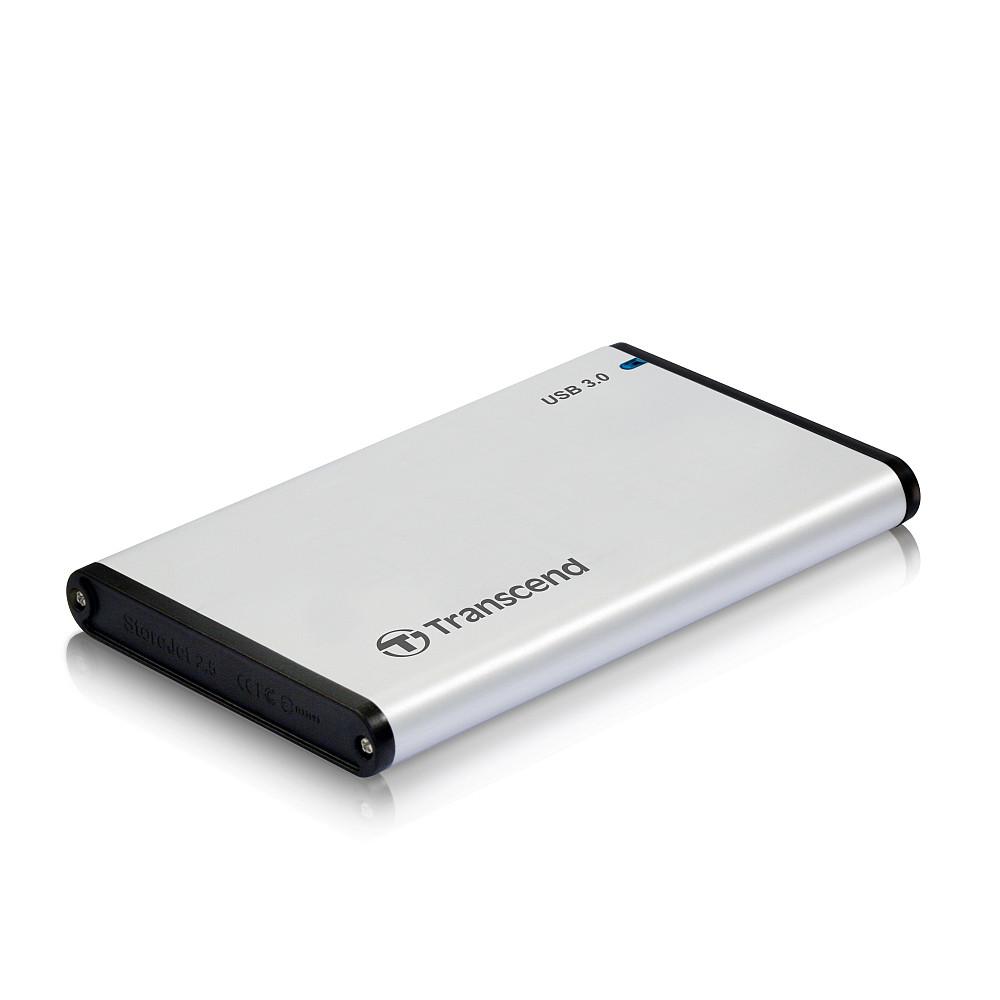Transcend TS0GSJ25S3, 2.5'' 0GB StoreJet S3, AL housing