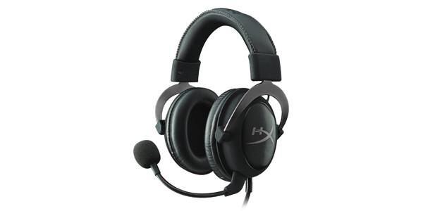 Наушники-гарнитура HyperX KHX-HSCP-GM Headset, Cloud II - Gum Metal