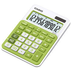Калькулятор настольный CASIO MS-20NC-GN-S-EC