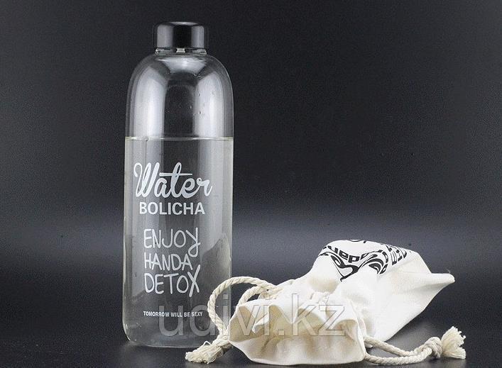 Литровая бутылка для воды и напитков