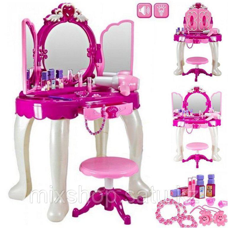 Трюмо для девочек Glamor Mirror (свет, звук), аксессуары