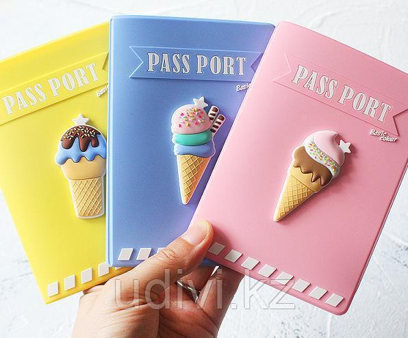 Силиконовая обложка для паспорта