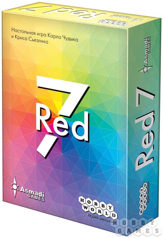 Настольная игра Red 7 - фото 1