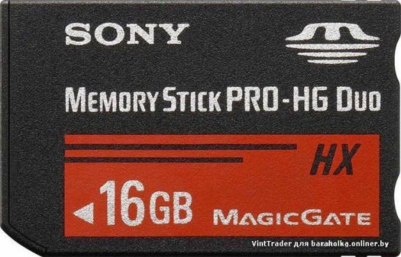 Карта памяти Sony Memory Stick Pro Duo HG 16 GB