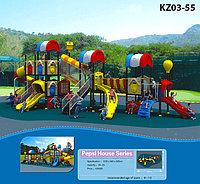 Пластиковые детские игровые площадки