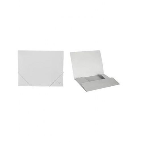 Папка пластиковая на резинке Berlingo формат А4 серая