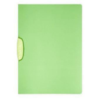 """Папка с боковым клипом Durable """"Swingclip Color"""" А4 зеленая"""
