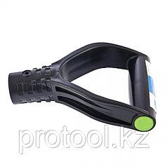 Усиленная V-образная рукоятка (черная) для снеговых лопат, d-32 // СИБРТЕХ Россия