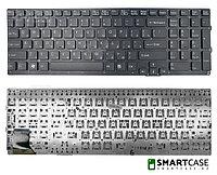 Клавиатура для ноутбука Sony VPC-F219FC без рамки (черная, RU)